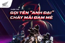 Honda Big Bike Social & PR campaign 2021
